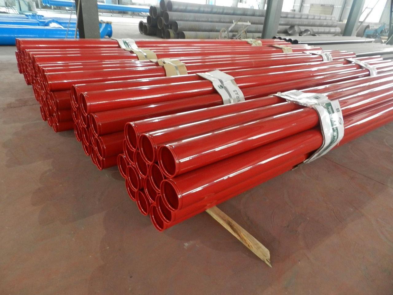 消防专用涂塑钢管需要加防腐涂层