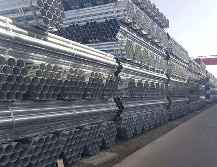 热镀锌钢管的性能优点