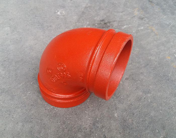 沟槽 90°弯头(消防)